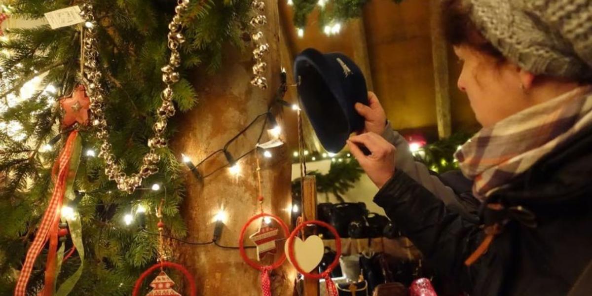 Knusse Kerstmarkten In Schilderachtig Drenthe Drenthe