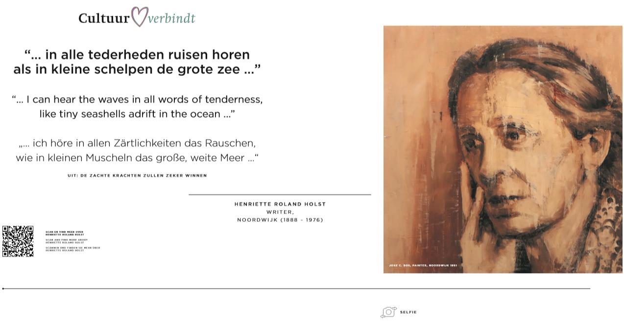 Henriette Roland Holst En Joke C Bos Noordwijk