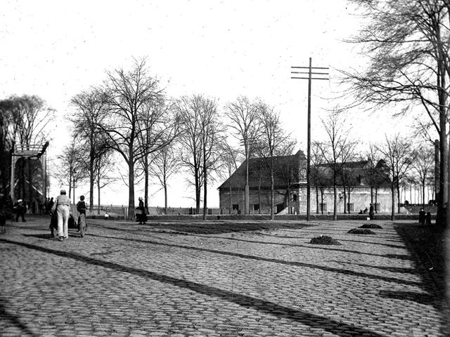Kruithuis rond 1900.